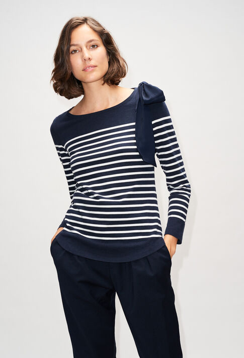 TROCADEROH19 : T-Shirts couleur MARINE