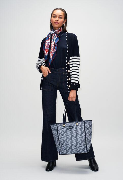 MINATAH19 : Maille & Sweatshirts couleur MARINE