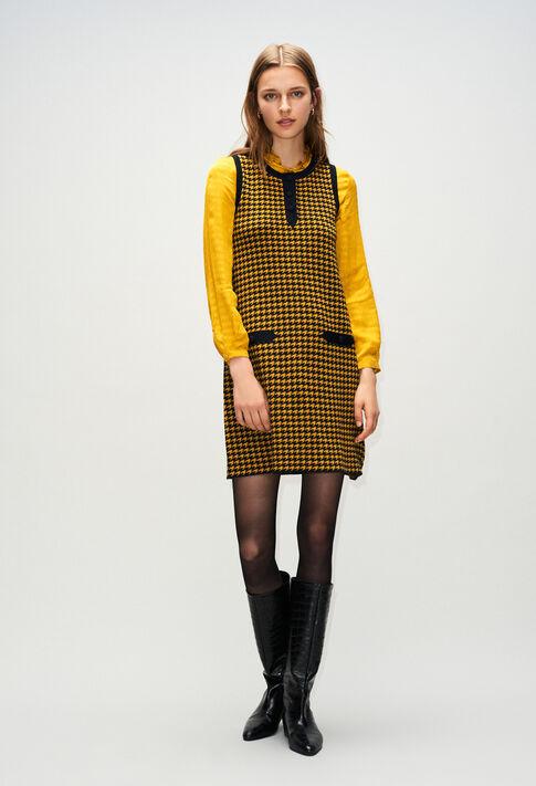 MERCATOH19 : Kleider farbe BICOLORE