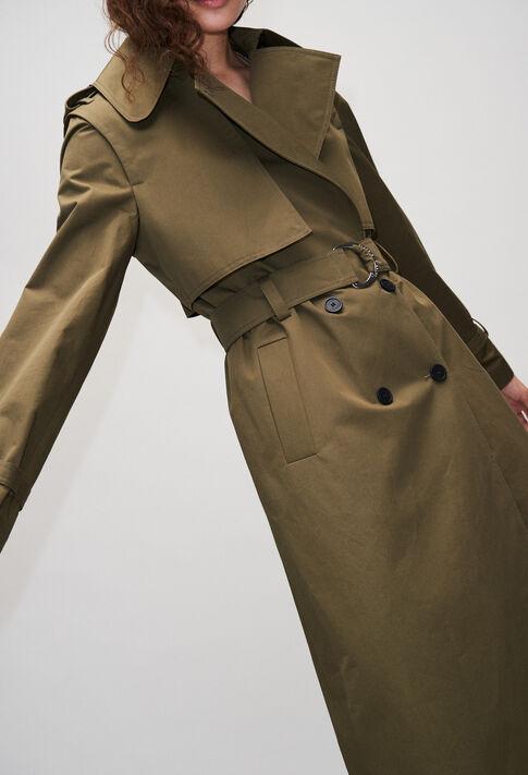 GHITAH19 : Manteaux et Blousons couleur KAKI