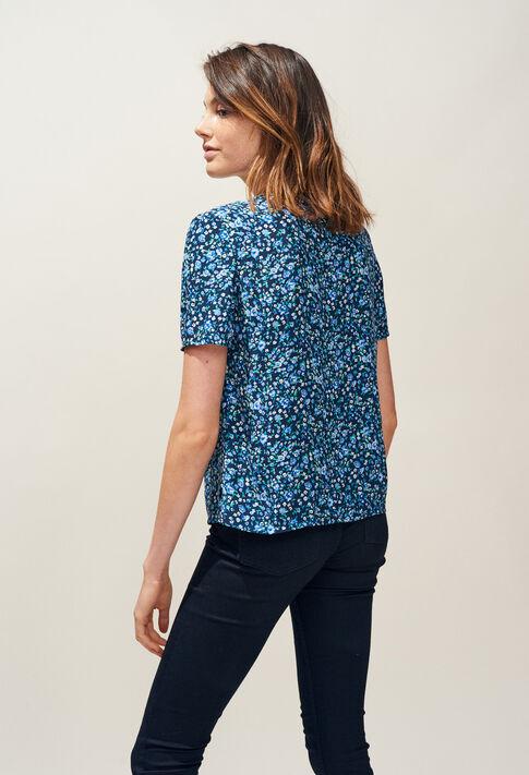 BOWLING : Tops & chemises couleur Marine