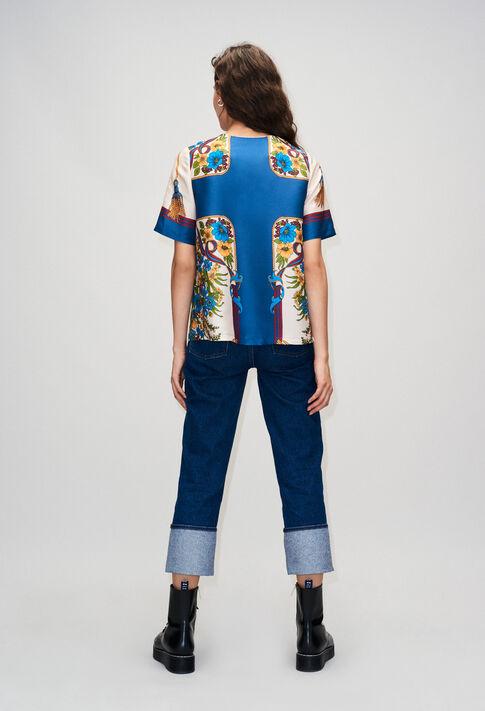 BINDOH19 : Oberteile & Hemden farbe MULTICO