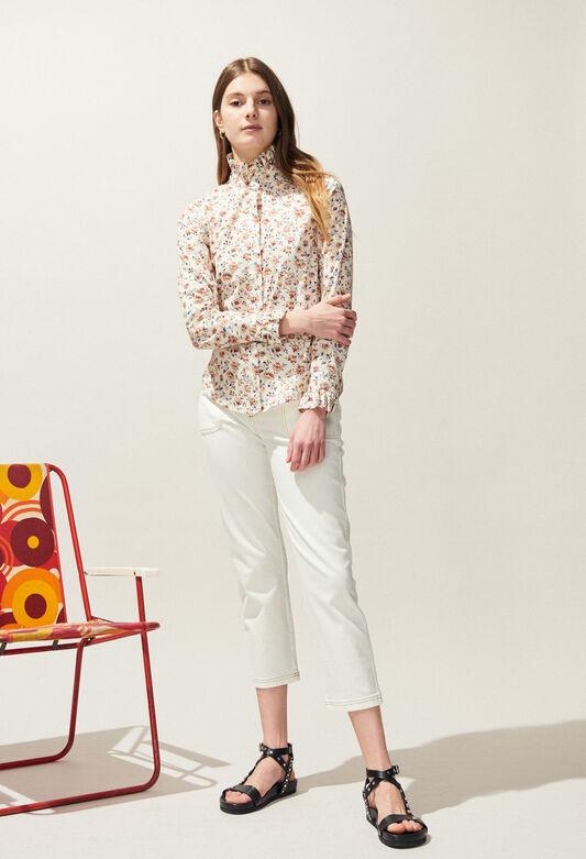 COLOMBE ENNA : Tops et Chemises couleur IVOIRE