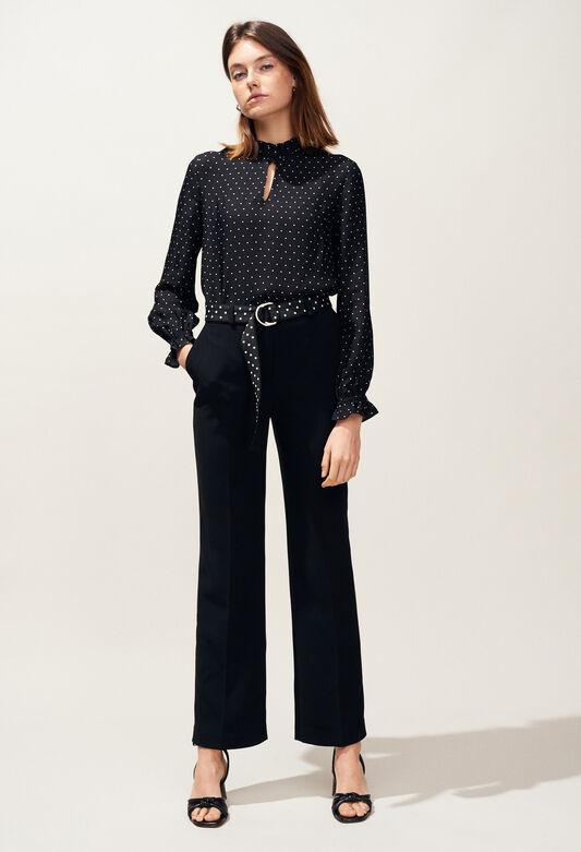 PHYBIE : Hosen & Jeans farbe NOIR