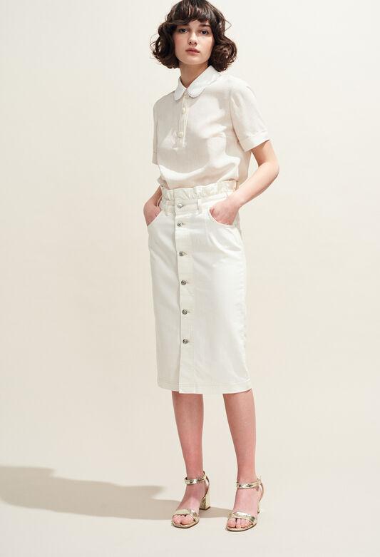 SILVER : Röcke & Shorts farbe ECRU