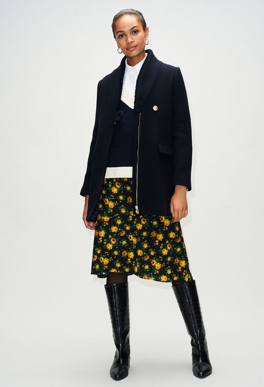 GALINOH19 : Manteaux et Blousons couleur MARINE