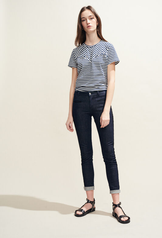 PAOLINE : Hosen & Jeans farbe JEAN
