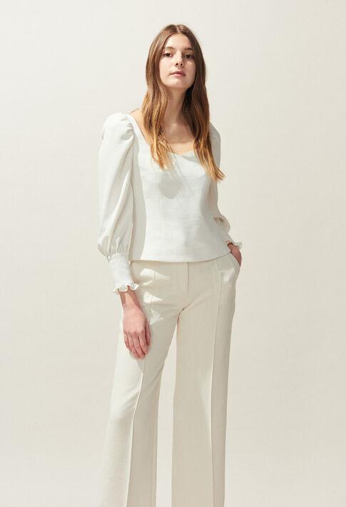 BRAVO : Oberteile & Hemden farbe Ecru