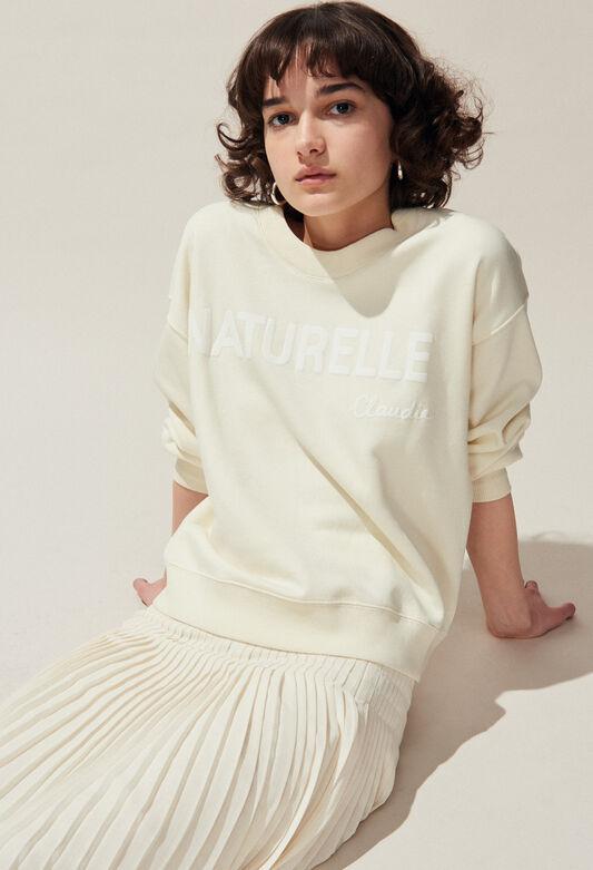 TESCHIC : Strick & Sweatshirts farbe IVOIRE