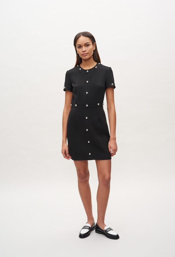 Kleid mit Nieten | Claudie Pierlot