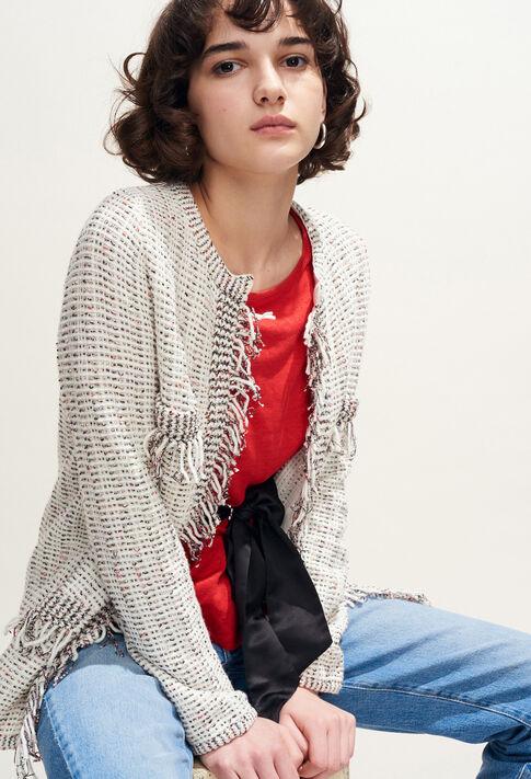 MATINA : Mailles & Sweatshirts couleur Ecru