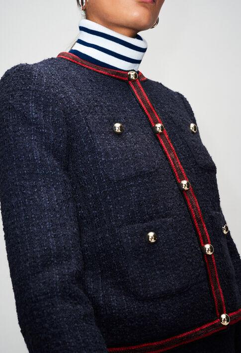 VIRNAH19 : Jacken farbe MARINE