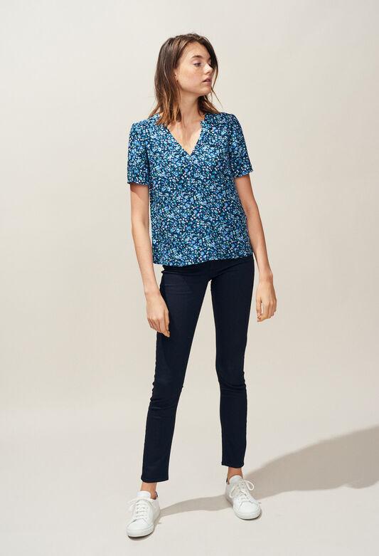 BOWLING : Tops et Chemises couleur MARINE