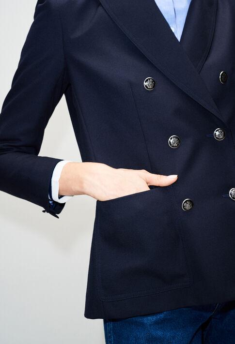 VOLONTEH19 : Jacken farbe MARINE