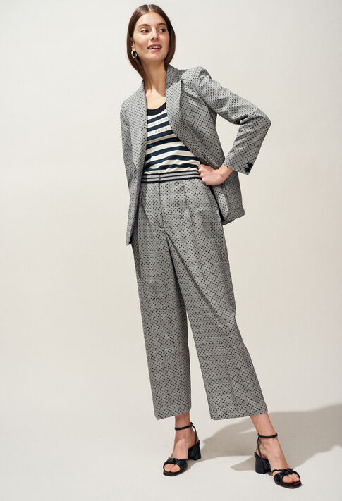 VICTORIUS : Coats & Jackets farbe Gris Chine