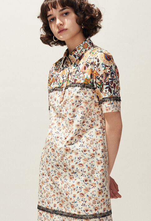 REQUIN : Kleider farbe Ivoire