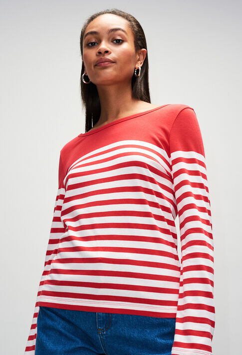 TROCADH19 : T-Shirts couleur ROUGE