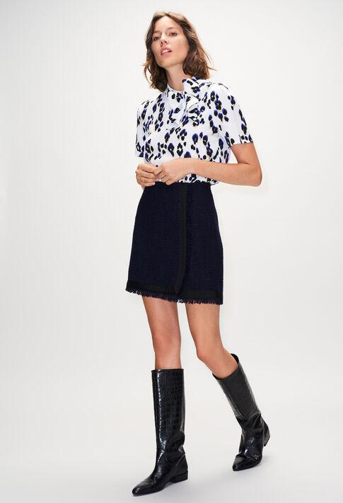 SAGAH19 : Röcke & Shorts farbe MARINE