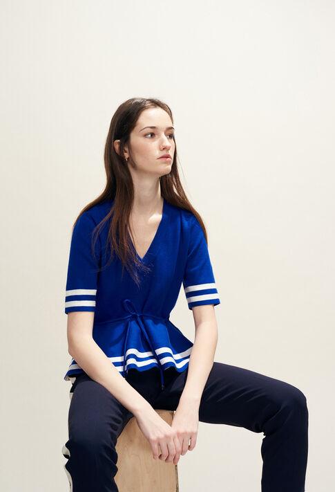 MARLY BIS : Strick & Sweatshirts farbe Indigo