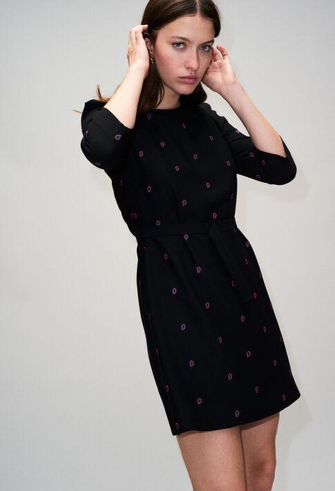 RICINH19 : Kleider farbe NOIR
