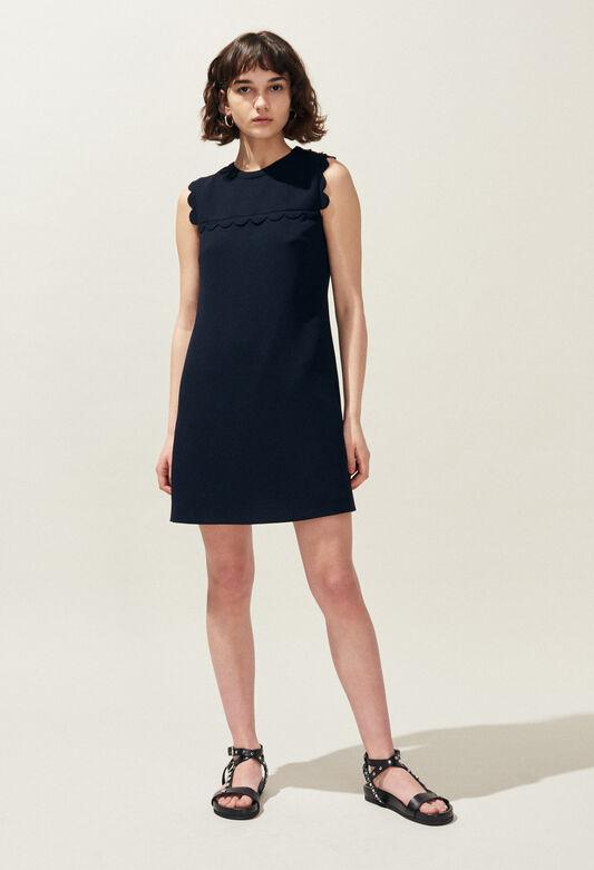 REYNA : Kleider farbe MARINE