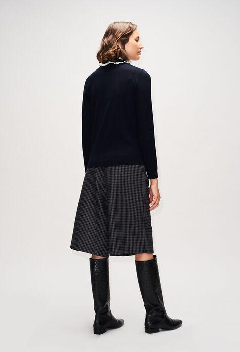 MADAMEbisH19 : Strick & Sweatshirts farbe MARINE