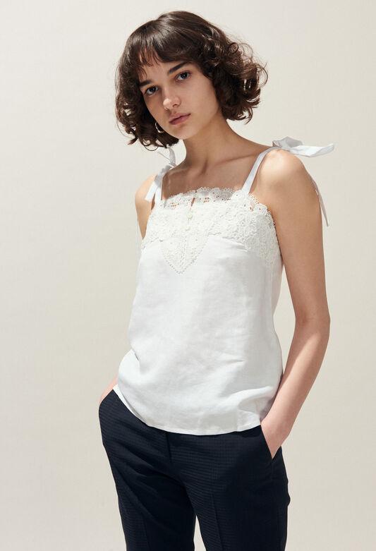 BLOUSY : Oberteile & Hemden farbe ECRU