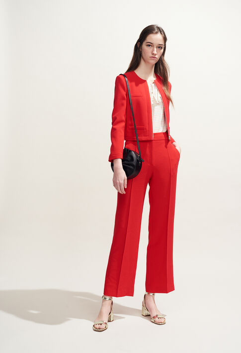 VILLE : Jacken farbe Ecarlate