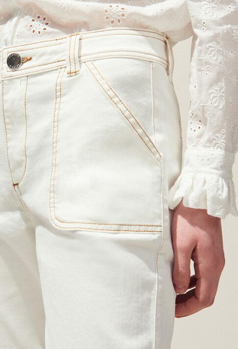 PECHE : Hosen & Jeans farbe Ecru