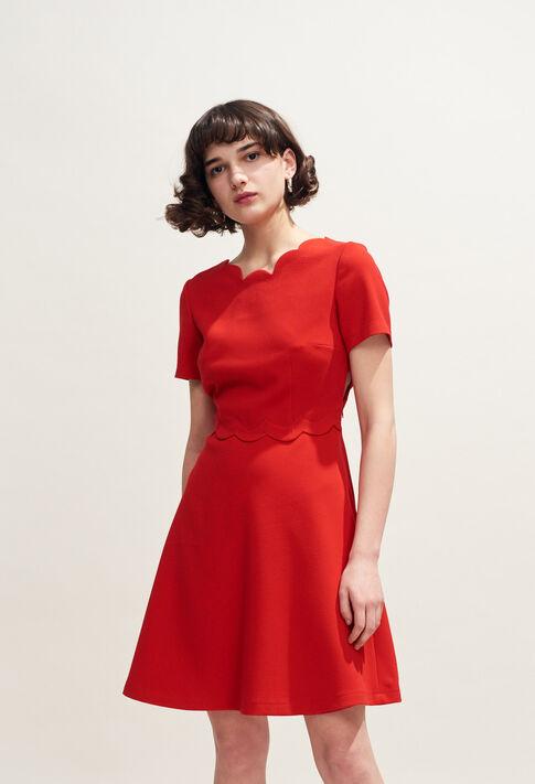 REMI : Kleider farbe Ecarlate