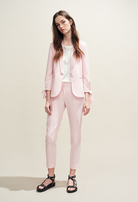 POUSSIN BIS : Hosen & Jeans farbe ROSE