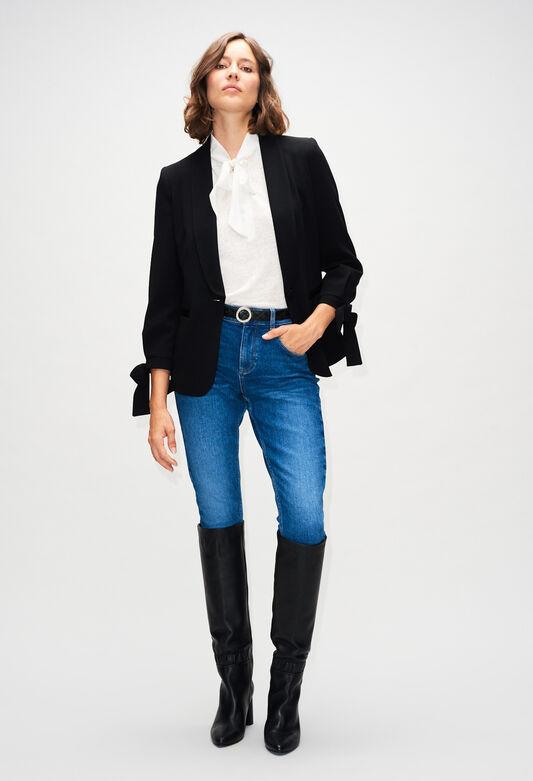 VIRGILH19 : Vestes couleur MARINE