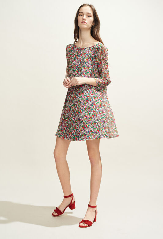 RIFIFI FLEURETTES : Kleider farbe MULTICO