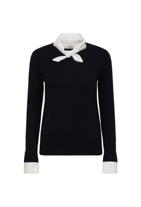 MASSINARI : Strick & Sweatshirts farbe Marine