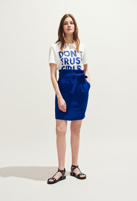SOLEDAD : Jupes et Shorts couleur INDIGO