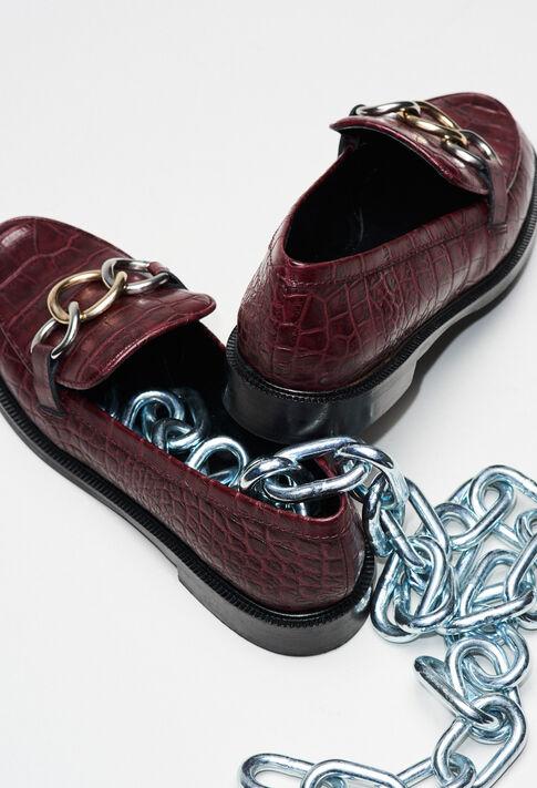 ACCORDCROCOH19 : Schuhe farbe CARMIN