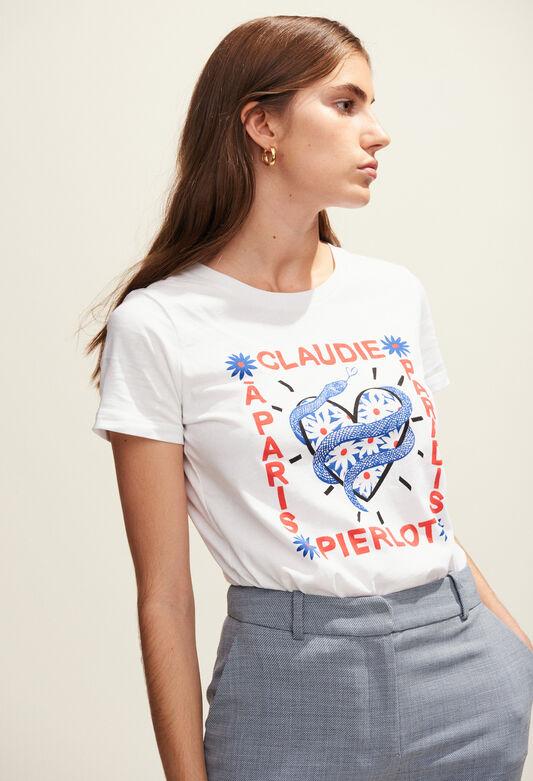 TEADORO : T-Shirts farbe BLANC