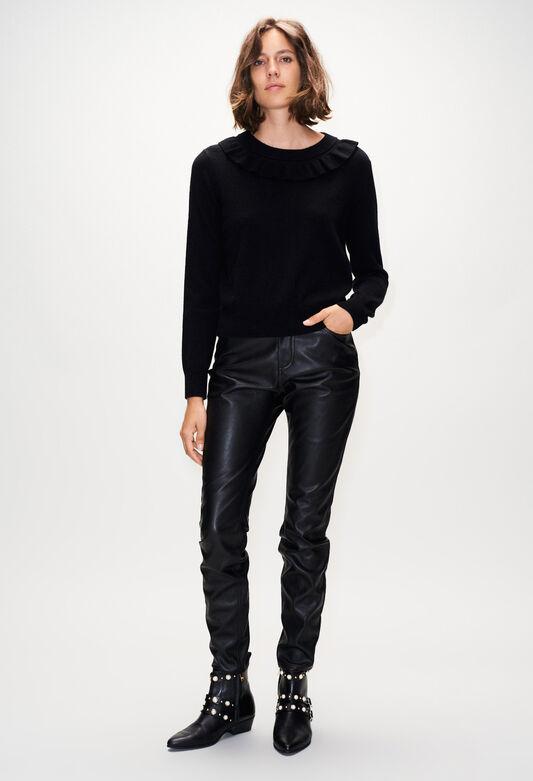 MAKOH19 : Maille & Sweatshirts couleur NOIR
