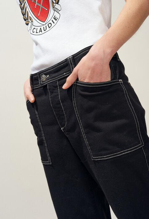 PECHE : Hosen & Jeans farbe NOIR