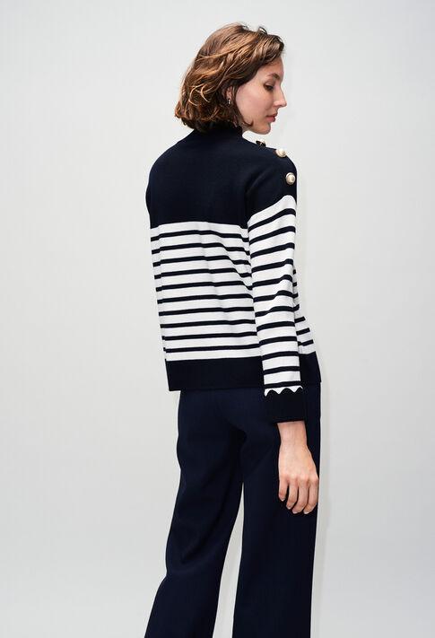 MINATAH19 : Strick & Sweatshirts farbe MARINE