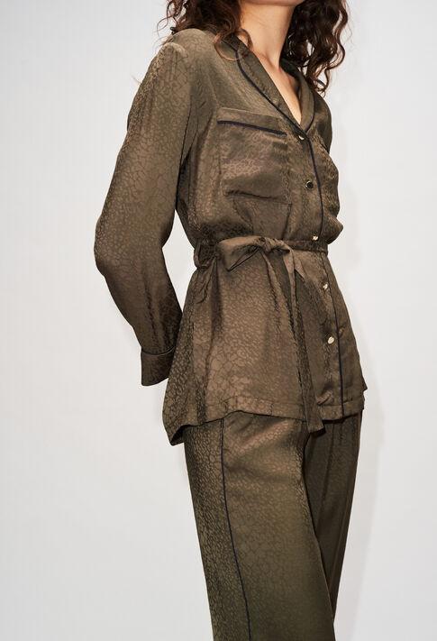 BIZANTINEH19 : Oberteile & Hemden farbe KAKI ARMY