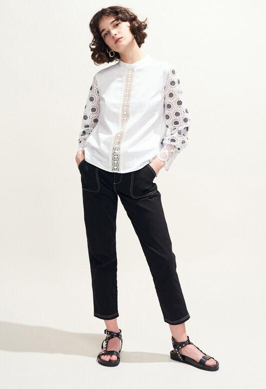 BAZIN : Oberteile & Hemden farbe BLANC
