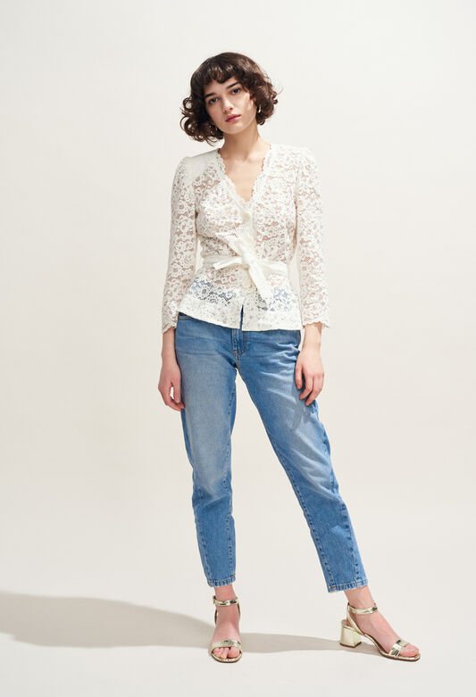 BLOSE : Oberteile & Hemden farbe ECRU