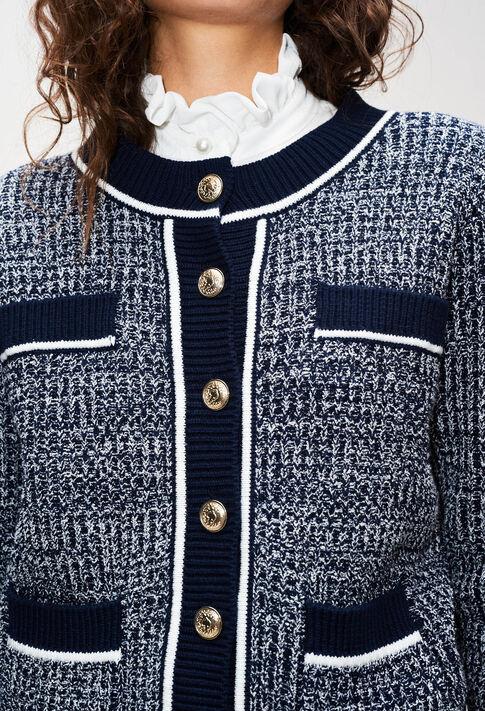 MARCYAH19 : Strick & Sweatshirts farbe MARINE