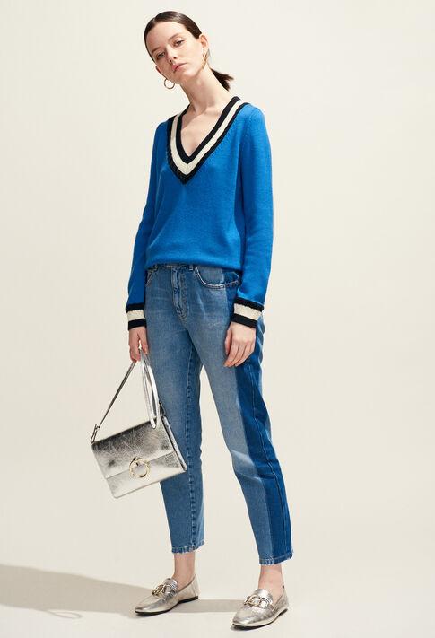 ANOUCK POUCH BIS : Taschen und Lederwaren farbe Argent