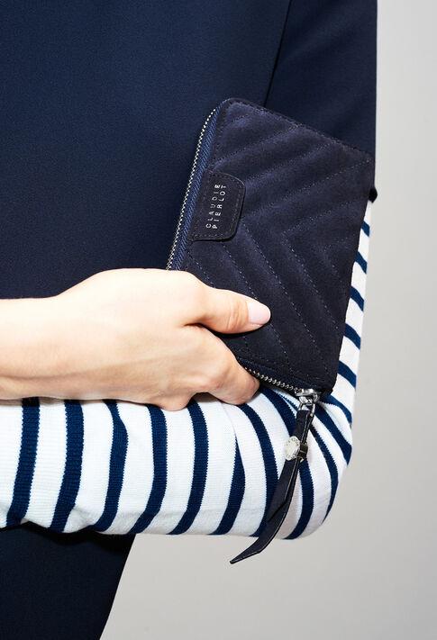 ANSWERQUILTSUEDEH19 : Taschen und Lederwaren farbe Marine