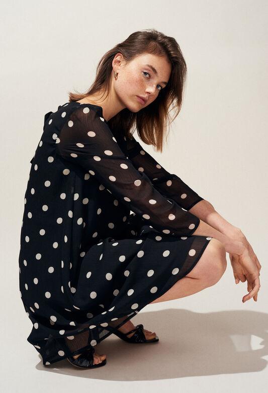 RIFIFI POIS : Kleider farbe NOIR