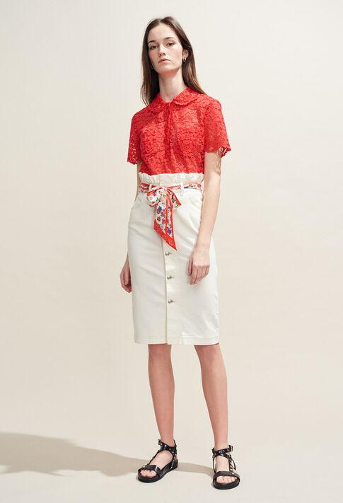 BELANGE : Tops et Chemises couleur Ecarlate