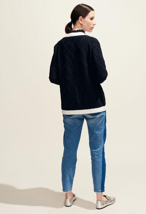 MONCEAU : Strick & Sweatshirts farbe Marine