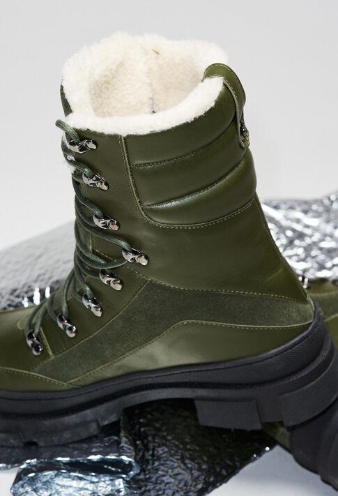 AUBEH19 : Schuhe farbe KAKI